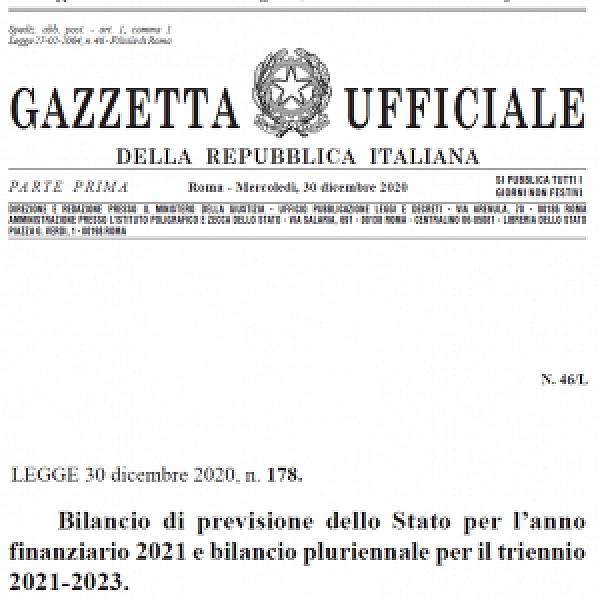 Legge di bilancio 2021, le misure per le imprese