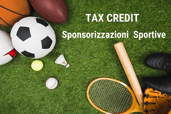 Tax credit sponsorizzazioni sportive: da febbraio le istanze